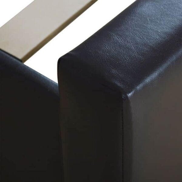 Κρεβάτι Ariane Σκούρο Καφέ PU 150x200